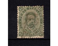 1889 - LOTTO/21979 - REGNO - 45 cent. VERDE OLIVA  - USATO