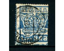 1923 - LOTTO/22063 - REGNO - 1 LIRA. MARCIA SU ROMA - USATO