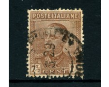1928 - LOTTO/22070A - REGNO 7,5 CENT. VITT. EMANUELE III° - USATO