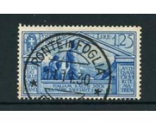 1930 - LOTTO/22077 - REGNO - 1,25 Lire  BIMILLENARIO VIRGILIO - USATO