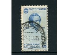 1935 - LOTTO/22093 - REGNO - 1,25 LIRE  V. BELLINI - USATO
