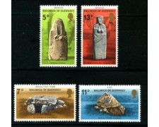 1977 - LOTTO/22110 - GUERNSEY - MONUMENTI PREISTORICI 4v. - NUOVI