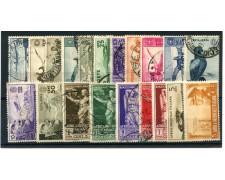 1938/40 - LOTTO/22173 - AFRICA ORIENTALE - 20 FRANCOBOLLI NUOVI /USATI  DIFFERENTI