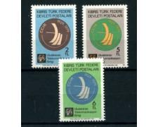 1979 - CIPRO TURCA - LOTTO/22141 - RADIOCOMUNICAZIONI 3v. - NUOVI