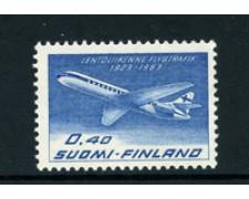 1963 - LOTTO/22150 - FINLANDIA - POSTA AEREA 40p.  FINNAIR - NUOVO