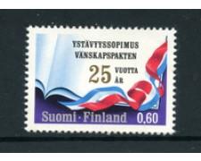 1973 - LOTTO/22151 - FINLANDIA - AMICIZIA CON LA RUSSIA - NUOVO