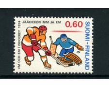 1974 - LOTTO/22154 - FINLANDIA - HOCKEY SU GHIACCIO - NUOVO