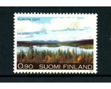 1977 - LOTTO/22158 - FINLANDIA - 90p. EUROPA  - NUOVO