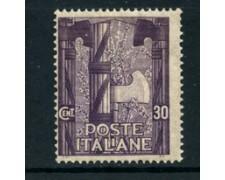 1923 - LOTTO/22199 - REGNO - 30 cent. MARCIA SU ROMA - LING.