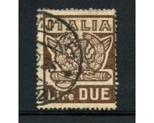 1923 - LOTTO/22225 - REGNO -  2 LIRE MARCIA SU ROMA - USATO