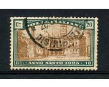 1924 - LOTTO/22230 - REGNO - 20+10c. ANNO SANTO - USATO