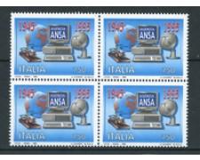 1995 - LOTTO/REP2223Q - REPUBBLICA - AGENZIA ANSA - QUARTINA