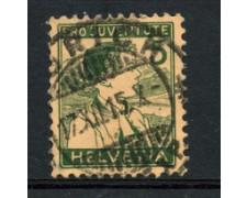 1915 - LOTTO/22248 - SVIZZERA - 5+5c. PRO JUVENTUTE - USATO