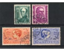 1937 - LOTTO/22270 - SVIZZERA  - PRO JUVENTUTE 4v. - USATI