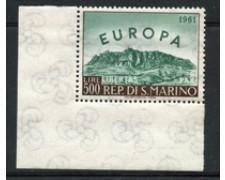 1961 - LOTTO/22282 - SAN MARINO - 500 LIRE EUROPA - NUOVO