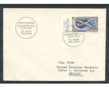 1963 - LOTTO/22306 . SVIZZERA - 25° ANNIVERSARIO PRO AEREO - BUSTA