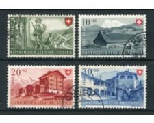1948 - LOTTO/22311 - SVIZZERA - PRO PATRIA 4v. - USATI