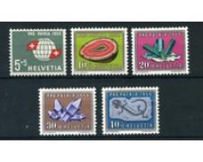 1959 - LOTTO/22334 - SVIZZERA - PRO PATRIA 5v. - NUOVI
