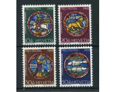 1968 - LOTTO/22338 - SVIZZERA - PRO PATRIA 4v. - NUOVI