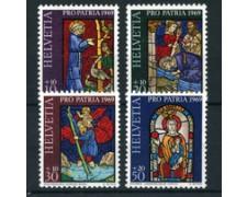1969 - LOTTO/22339 - SVIZZERA - PRO PATRIA 4v. - NUOVI