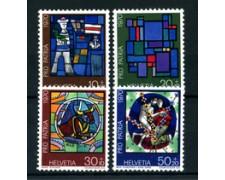 1970 - LOTTO/22340 - SVIZZERA - PRO PATRIA 4v. - NUOVI