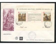 1979 - LOTTO/22383 - SMOM - NATALE FOGLIETTO - FDC