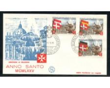 1975 - LOTTO/22385 - SMOM - ANNO SANTO - FDC