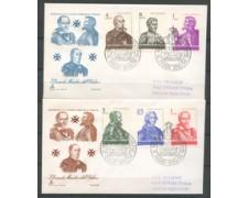 1974 - LOTTO/22389 - SMOM - GRANDI MAESTRI - 2 FDC