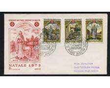 1973 - LOTTO/22390 - SMOM - NATALE - FDC
