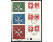 1975 - LOTTO/22393 - SMOM - SEGNATASSE - 3 FDC