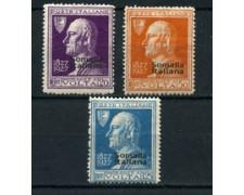 SOMALIA - 1927 - LOTTO/22411 - A.VOLTA 3v. -  NUOVI