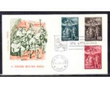 1961 - LOTTO/22614 - VATICANO - SAN LEONE MAGNO BUSTA FDC