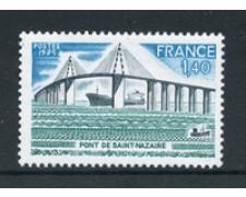 1975 - LOTTO/22627 - FRANCIA - PONTE DI ST. NAZAIRE - NUOVO