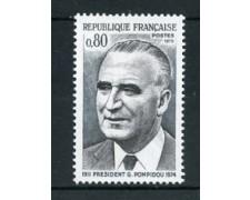 1975 - LOTTO/22633 - FRANCIA - GEORGES POMPIDOU - NUOVO
