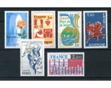 1975 - LOTTO/22635 - FRANCIA - REGIONI FRANCESI 6v. - NUOVI