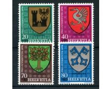 1978 - LOTTO/22637 - SVIZZERA - PRO JUVENTUTE 4v. - NUOVI