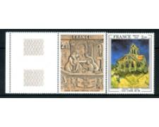 1979 - LOTTO/22645 - FRANCIA -OPERE D'ARTE 2v. - NUOVI