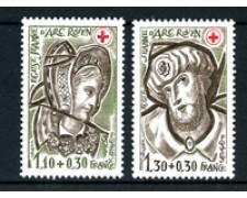 1979 - LOTTO/22647 - FRANCIA - PRO CROCE ROSSA 2v. - NUOVI
