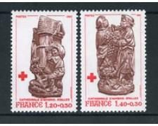 1980 - LOTTO/22657 - FRANCIA - PRO CROCE ROSSA 2v. - NUOVI