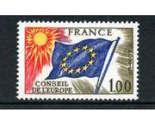 1976 - LOTTO/22662 - FRANCIA - 1 Fr. CONSIGLIO EUROPA - NUOVO