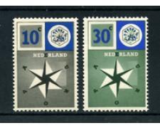 1957 - LOTTO/22669 - OLANDA - EUROPA 2v. -  NUOVI