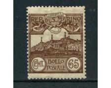 1903 - LOTTO/22679 - SAN MARINO - 65 CENT. BRUNO - LING.