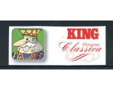 1990 - LOTTO/22682 - ITALIA REPUBBLICA - FOGLI MARINI KING +ALMANACCO