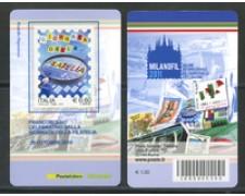 2010 - LOTTO/22755 - REPUBBLICA - GIORNATA FILATELIA - TESSERA FILATELICA