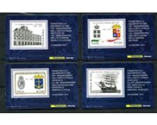 2011 - LOTTO/22793 - REPUBBLICA - MARINA MILITARE - 4 TESSERE FILATELICHE