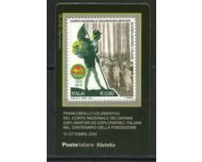2012 - LOTTO/22806 - REPUBBLICA - ESPLORATORI - TESSERA FILATELICA