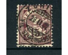 1882 - LOTTO/22883A - SVIZZERA - 15 cent. CIFRA E CROCE - USATO