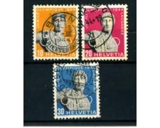 1944 - LOTTO/22845 - SVIZZERA - COMITATO OLIMPICO 3v. - USATI