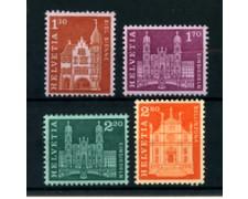 1963 - LOTTO/22846 - SVIZZERA - EDIFICI STORICI 4v. - NUOVI