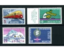 1962 - LOTTO/22847 - SVIZZERA - PROPAGANDA 4v. -  NUOVI